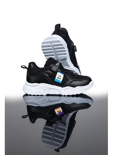 Letoon Ltn015 Çocuk Spor Ayakkabı Siyah